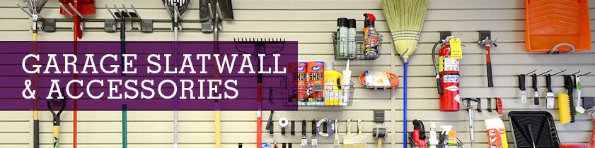 Garage Slatwall & Accessories