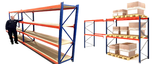 Pallet Racking and Longspan Shelving