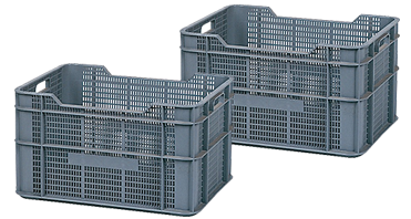 Ventilated Euro Stacking Containers