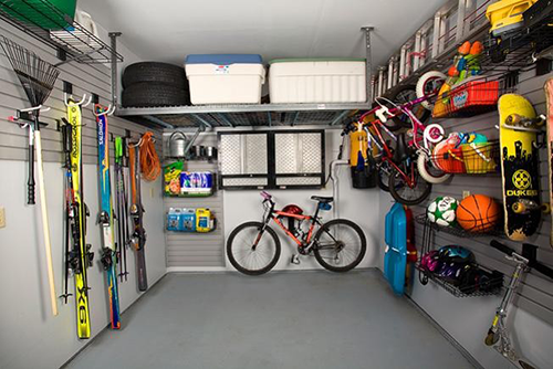 Garage Slatwall & Accessories
